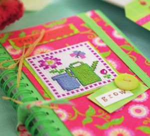 Cross-Stitch Garden Motifs