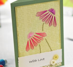 Dainty Stitched Birthday Cards