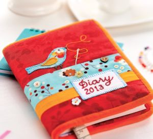 Diary Cover Embroidery Pattern
