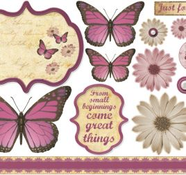 Debbi Moore Papers, Sentiments & Toppers