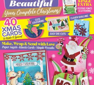 Crafts Beautiful December 2017 Issue 313 Template Pack