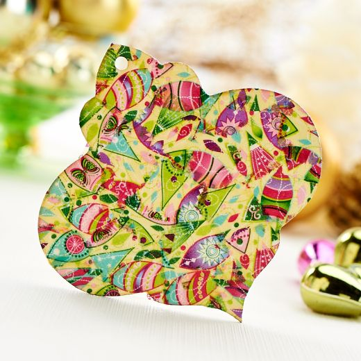 Decoupage Christmas Decorations