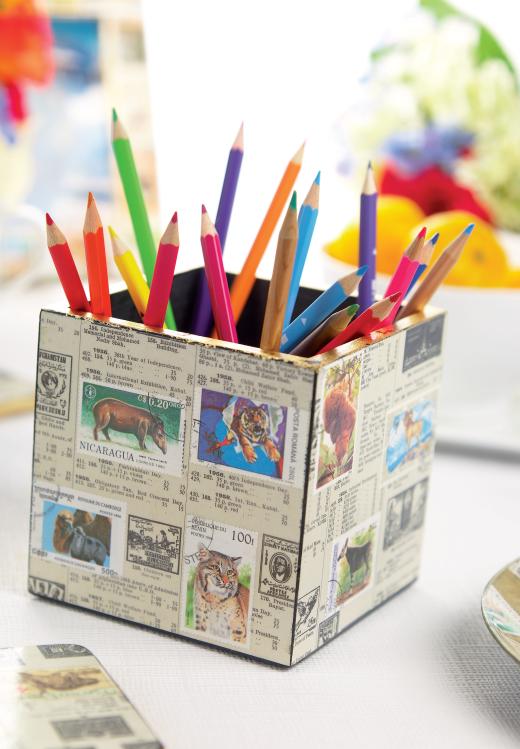 Animal Decoupage Designs Free Craft Project Papercraft