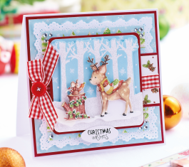 Decoupage Woodland Christmas Cards