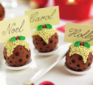 Dessert Inspired Christmas Decorations
