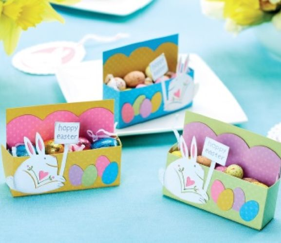 Easter Egg Box & Bunny Template
