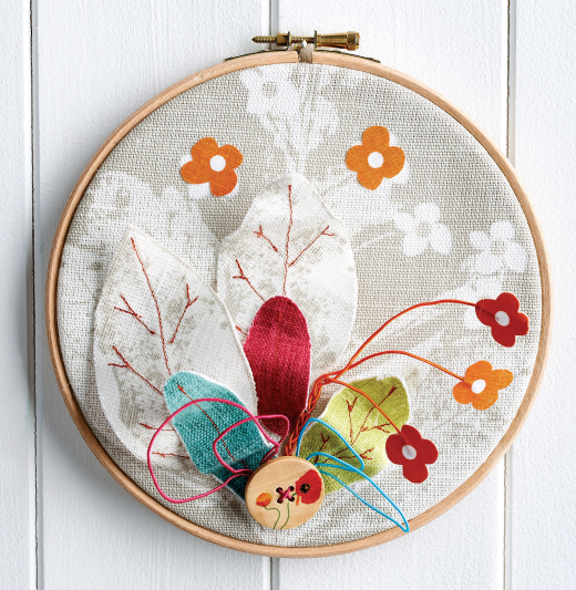 Embroidery Hoop Wall Art Free Craft Project Stitching