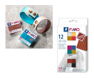 Win One of Three FIMO Leather-Effect Colour Pack and Clay Machine Sets
