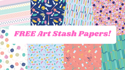 Free Art Stash Papers
