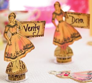 Fifties Themed Papercrafts