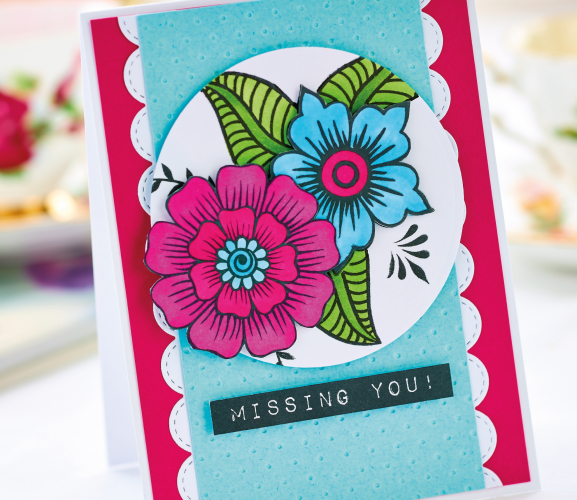 Floral Greeting Card Project