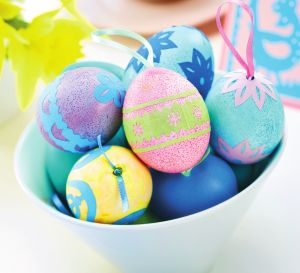 Folk Art Designs For Easter