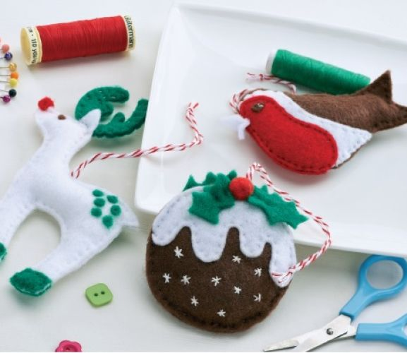 Make Felt Christmas Tree
