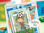 Football Birthday Card