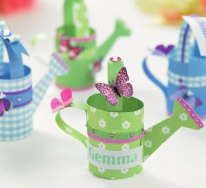 Garden Themed Papercraft