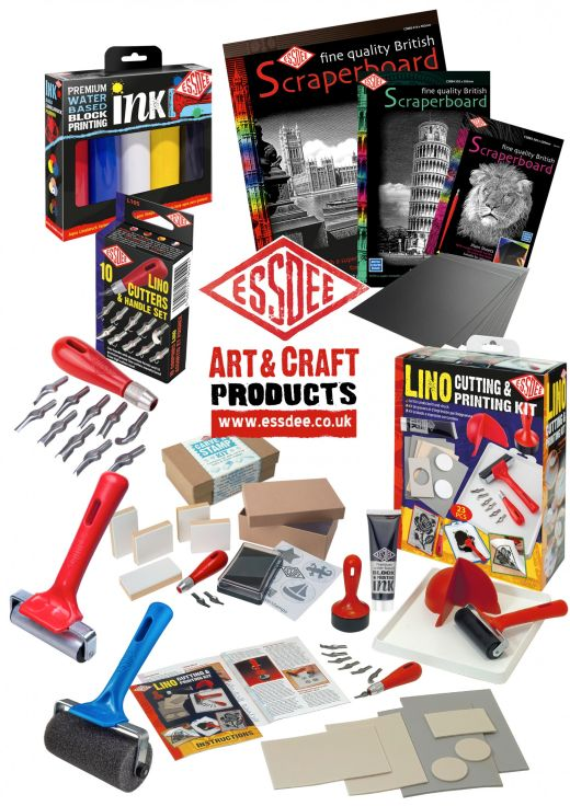 Win One of Five Lino Printing Sets