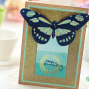 Golden Butterfly Card