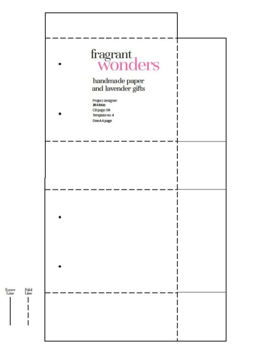 Basic Box Papercraft Template
