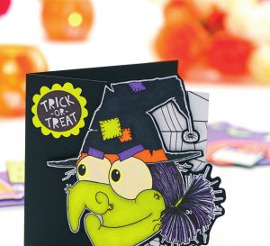 Halloween Witch Cards