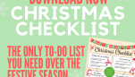 FREE DOWNLOAD! Christmas Checklist