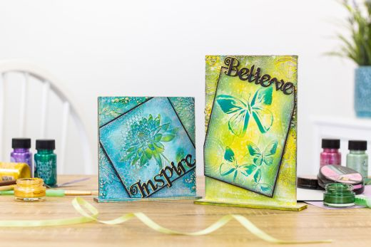 Win One of Five Crafter's Companion 3-D Embossing Folder & Stencil Sets