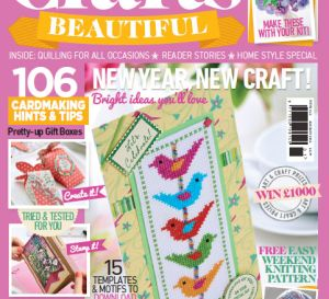 Crafts Beautiful January 2014 (issue 262) Template Pack