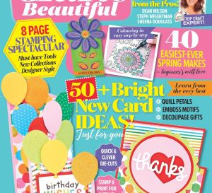 Crafts Beautiful January 2018 Issue 314 Template Pack