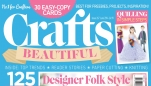 Crafts Beautiful June 2014 (Issue 267) Template Pack
