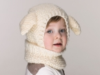 Knitted Lamb Hat