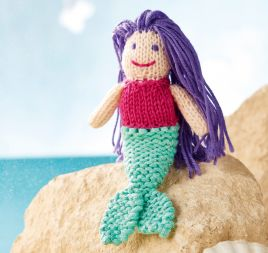 Knitted Mermaid for Beginners