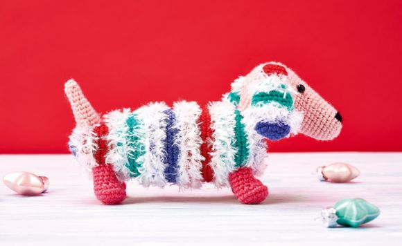 Dachshund Crochet Project