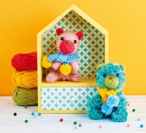 Easy Knitted Teddy Bears