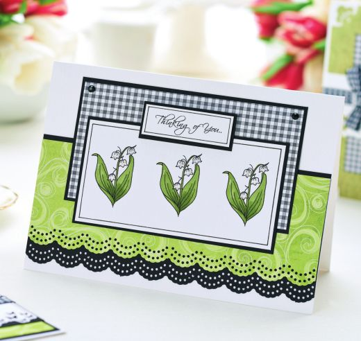 Lilly Of The Valley Cards