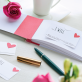 Love Cheques for Valentine's Day