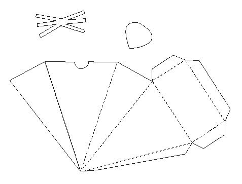 Mouse Papercraft Box Template - Free Card Making Downloads ...