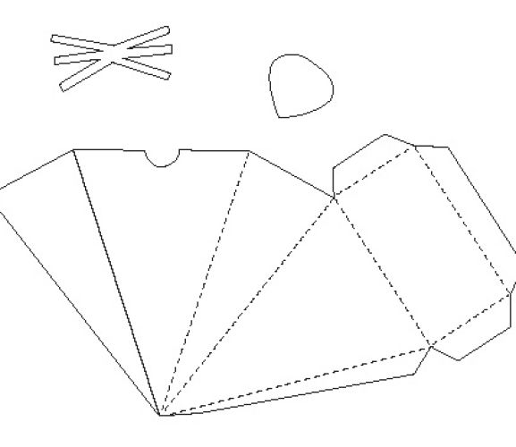 card making templates free download - mouse papercraft box template free card making downloads