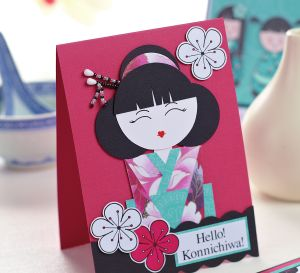Make Cards With Japanese Inspired Stamps