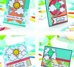 Bright & Colourful Contemporary Card Set