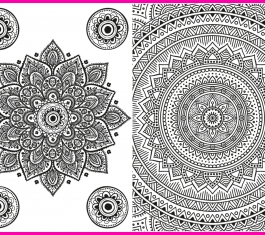 Mandala Colouring-In Pages