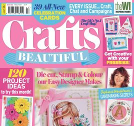Crafts Beautiful March 2017 Issue 303 Template Pack
