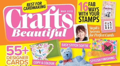 Crafts Beautiful March 2018 Issue 316 Template Pack