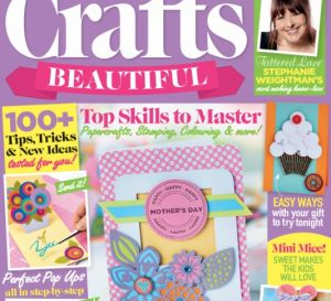 Crafts Beautiful March 2016 Issue 290 Template Pack