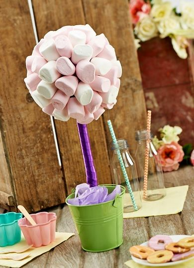 Marshmallow Sweet Tree