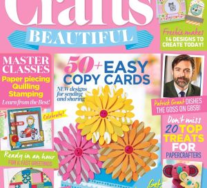 Crafts Beautiful May 2017 Issue 305 Template Pack