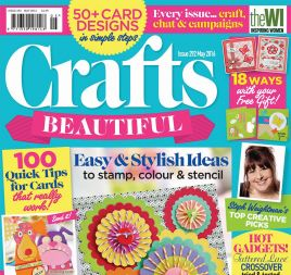 Crafts Beautiful May 2016 Issue 292 Template Pack
