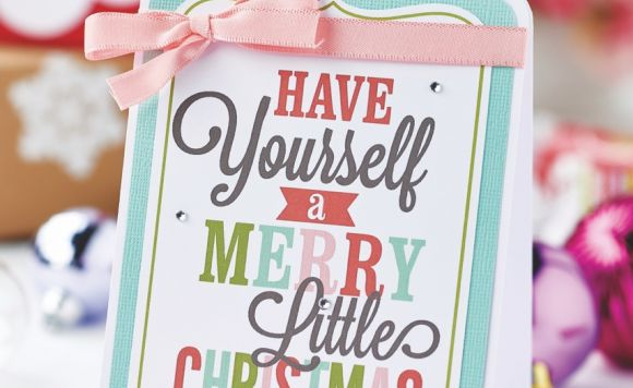 Typography Christmas Cards