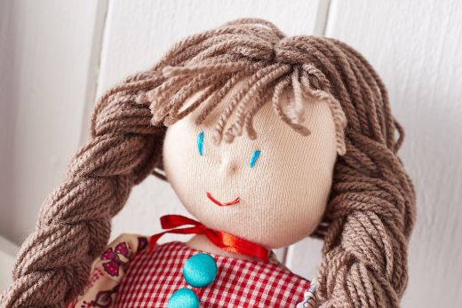 Easy-Sew Rag Doll - Free Craft Project – Stitching - Crafts ...