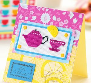 Morning Cross Stitch Cards