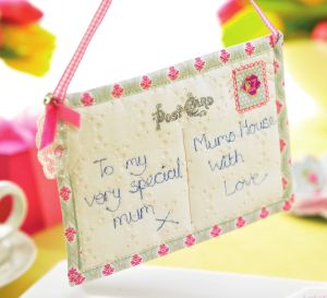 Mother's day gifts and card