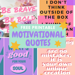 Motivational Craft Quotes Posters